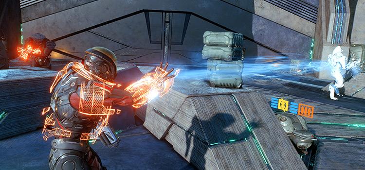 Mass Effect Battle - Game Screenshot