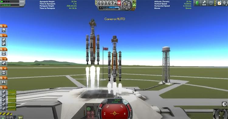 Kerbal Space Program gameplay
