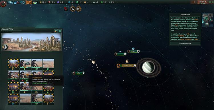 Stellaris space exploration game