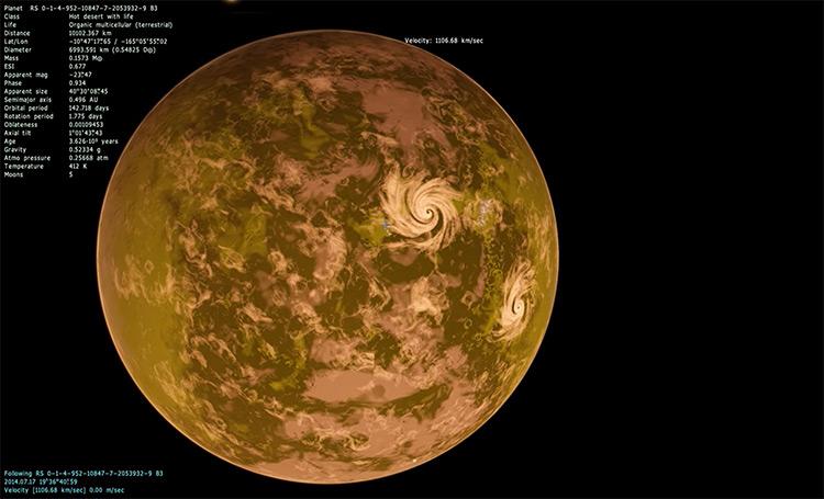 SpaceEngine gameplay