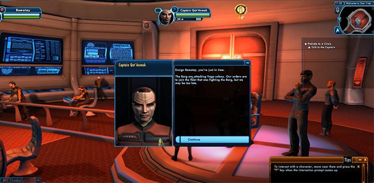 Star Trek Online game screenshot