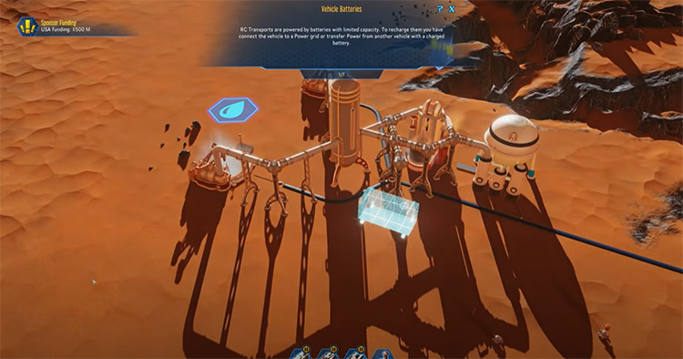 Surviving Mars gameplay
