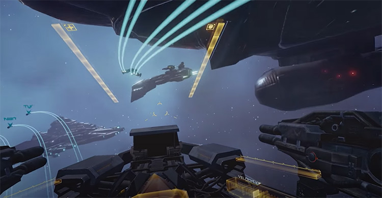 Eve Valkyrie game screenshot