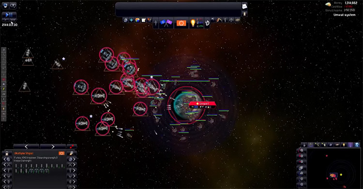 Distant Worlds: Universe gameplay