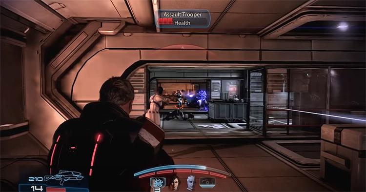 Mass Effect Trilogy gameplay