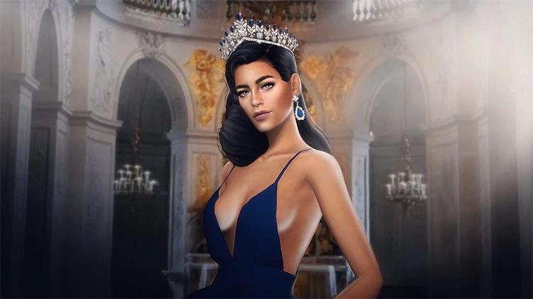 The Elegant Tiara CC Sims4