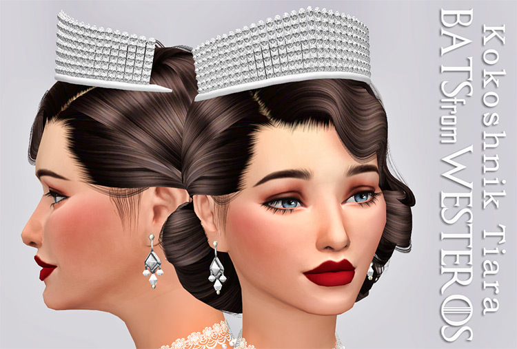Kokoshnik Tiara Sims4 CC