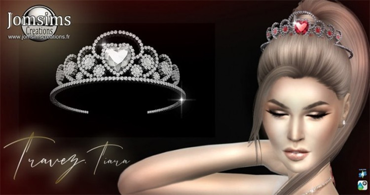 Traves Tiara CC Sims4