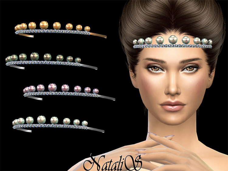 Pearls and Crystals CC for Sims 4