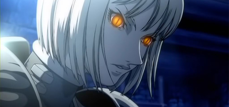 Clare from Claymore - Yellow Glowing Eyes