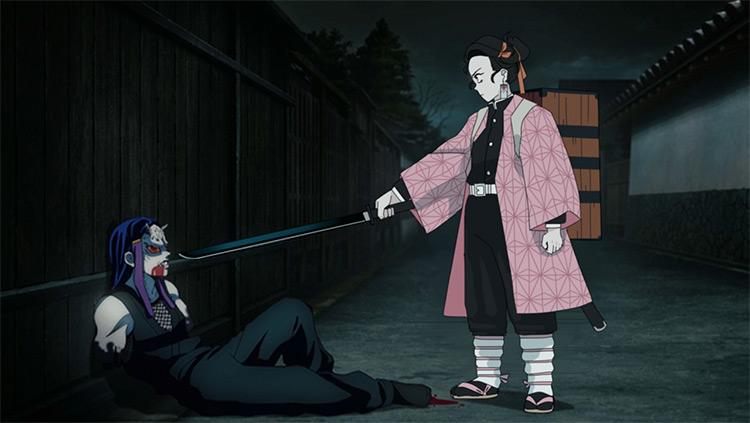 Nezuko Kamado sword demon girl