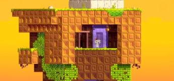Fez gameplay screenshot on PS4
