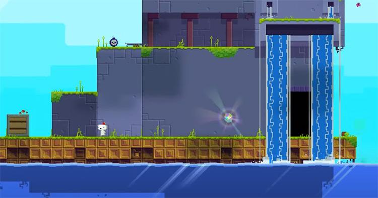 Fez on PS4 - Gameplay Screenshot