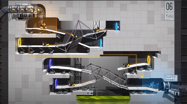 Bridge Constructor Portal PS4 Screenshot