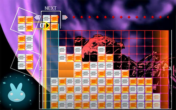 Lumines Remastered PS4 Screenshot