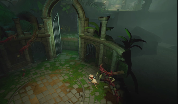 Moss PS4 Gameplay screenshot