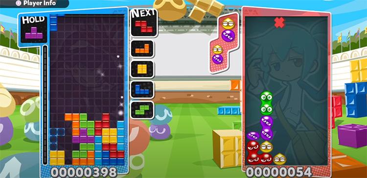 Puyo Puyo Tetris PS4 Screenshot