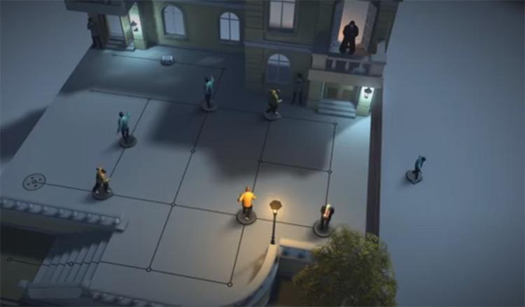 Hitman GO: Definitive Edition PS4 Screenshot