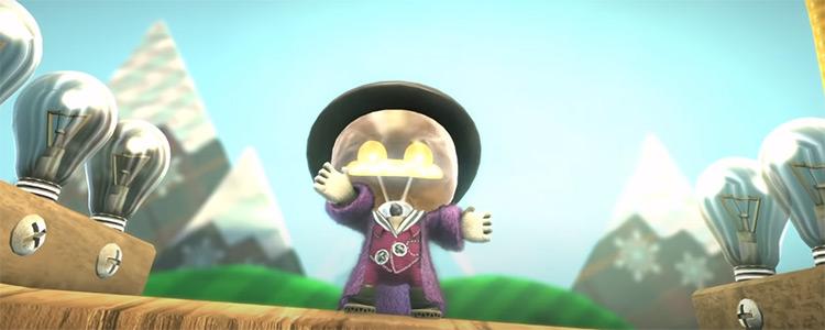 Little Big Planet 3 PS4 screenshot