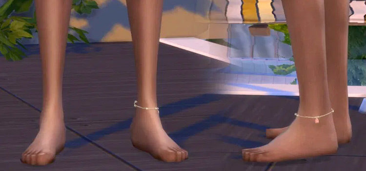 Sims 4: Best Anklets & Ankle Bracelets CC To Download