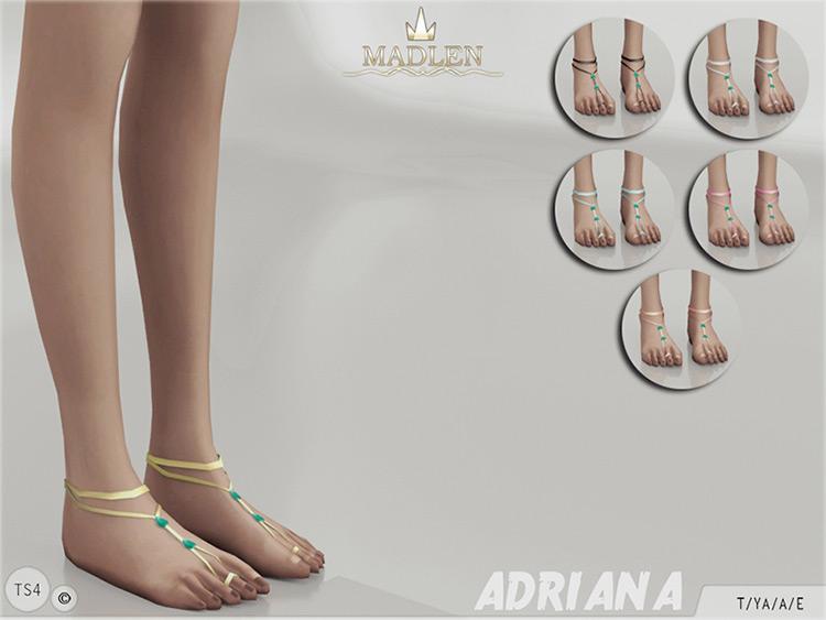 Madlen Adriana Feet Anklet CC