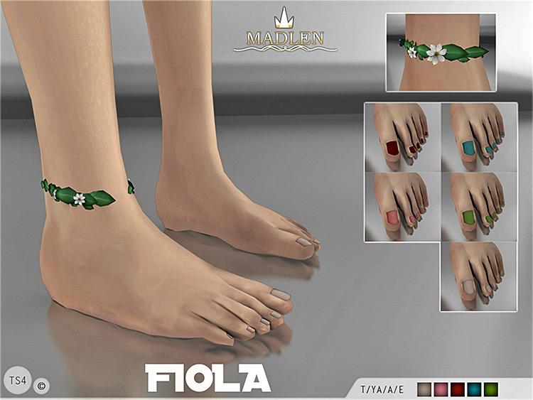 Madlen Fiola Feet modded CC anklet