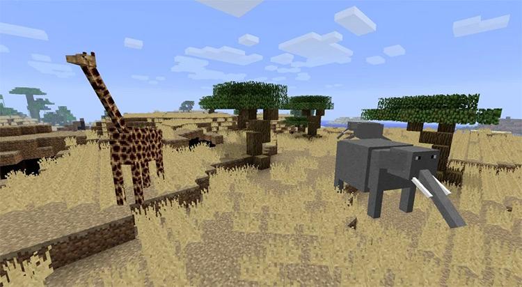 LotsOMobs Custom Mod for Minecraft