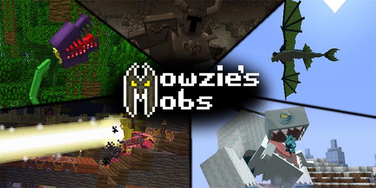 Mowzie's Mobs in Minecraft