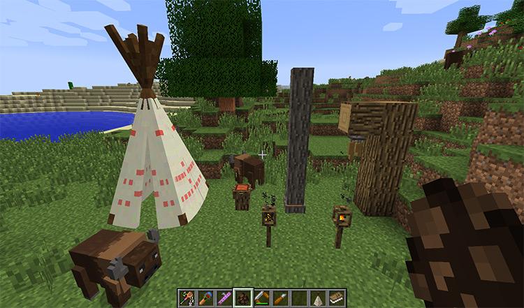 Totemic Minecraft mod