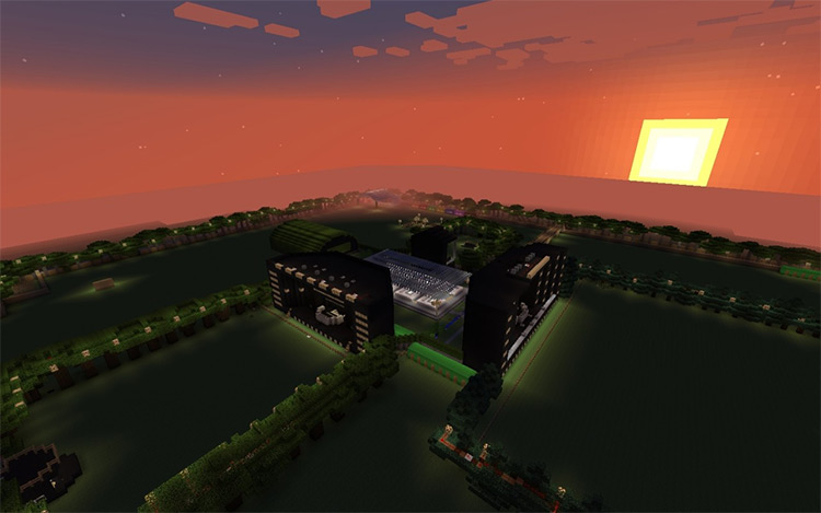 Minecraft Music Festival mod screenshot