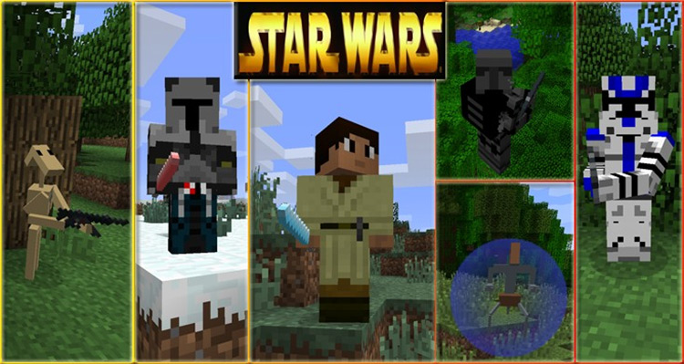 Star Wars Audio Replacements Minecraft Mod