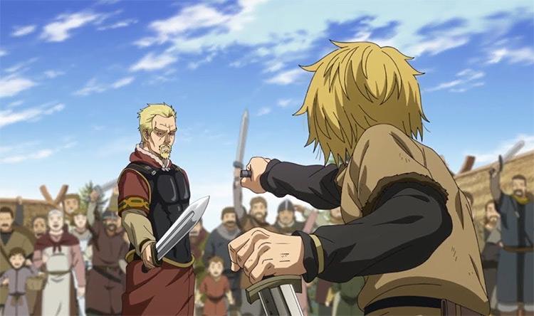 Vinland Saga War Anime Screenshot