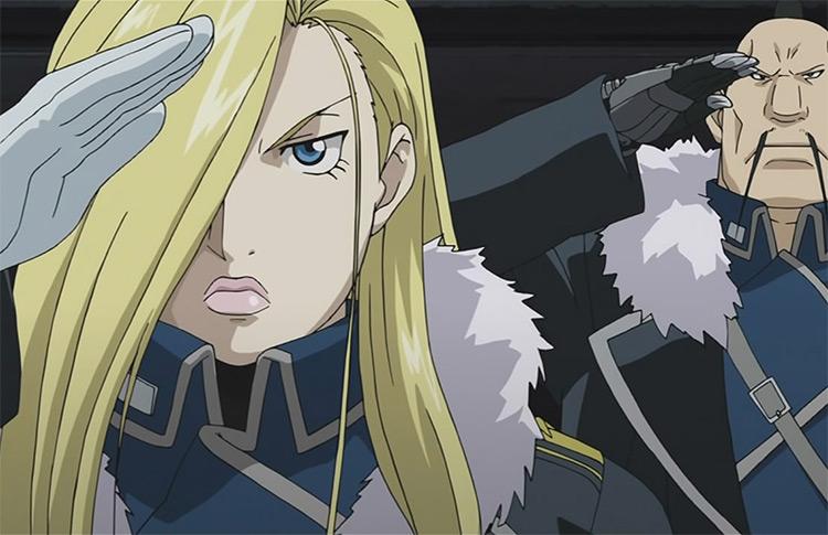 Fullmetal Alchemist: Brotherhood Army Salute - Screenshot