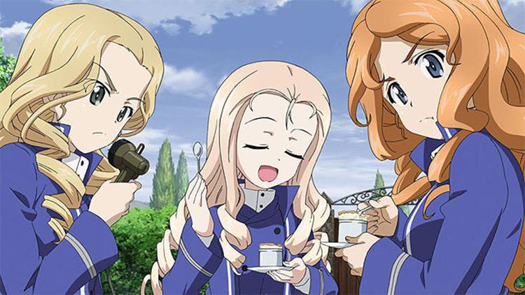 Girls & Panzer Screenshot