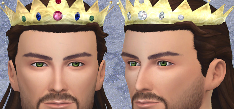 Sims 4 male king crown - TS4 CC