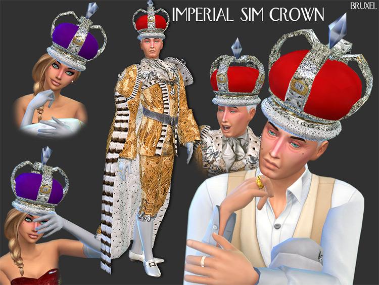 Imperial Sim Crown TS4 CC