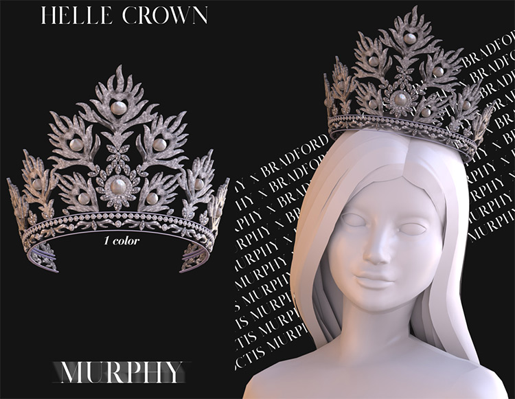 Helle Crown in Sims 4