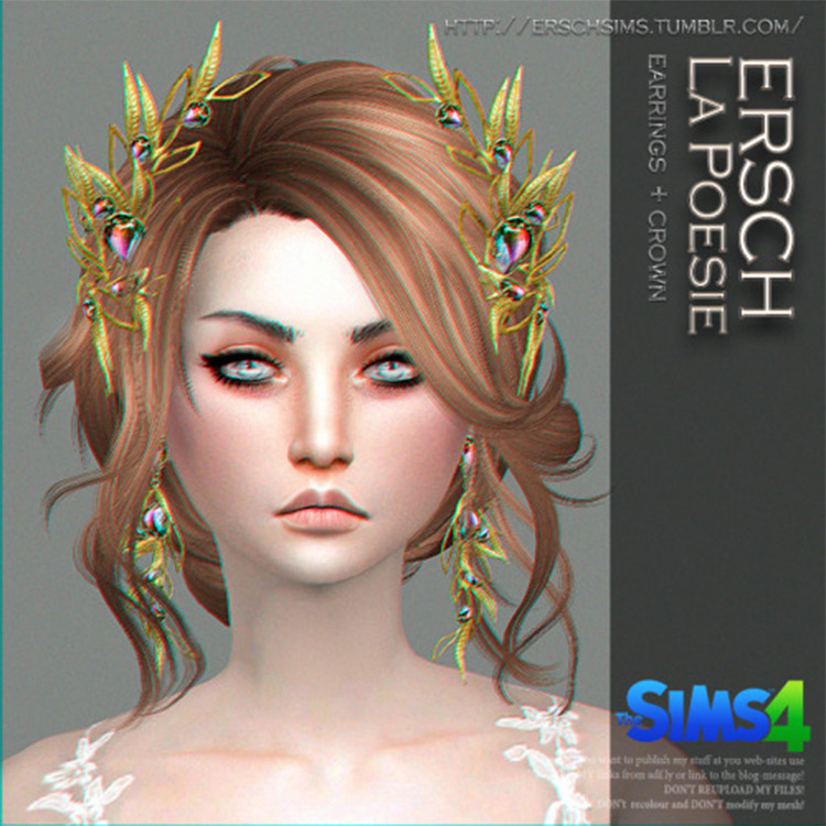 Autumn Rhapsody Crown - Sims 4 CC