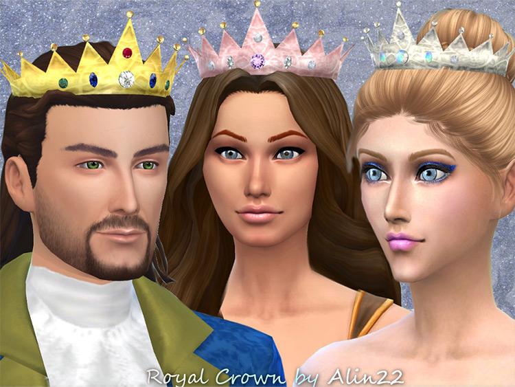 Royal Crown Guys & Girls design - The Sims 4 CC