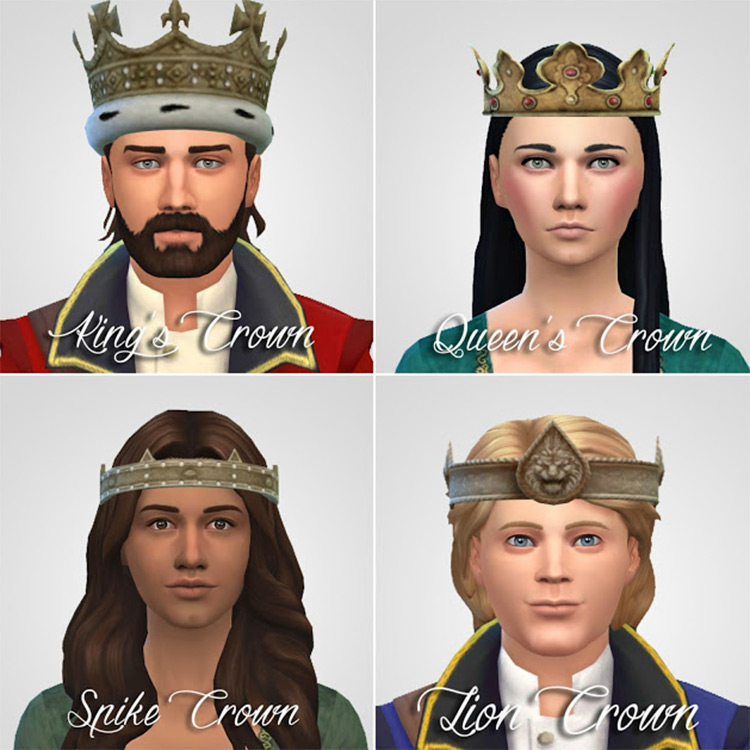 History Lovers - Sims Crowns CC Mod