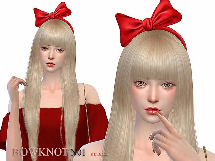 Bowknot N01 Sims 4 CC