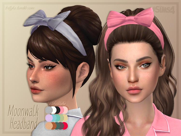 Moonwalk Headband for The Sims 4