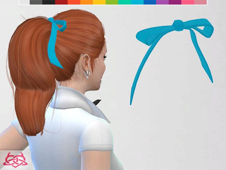 Basic Hair Bow - The Sims 4 CC