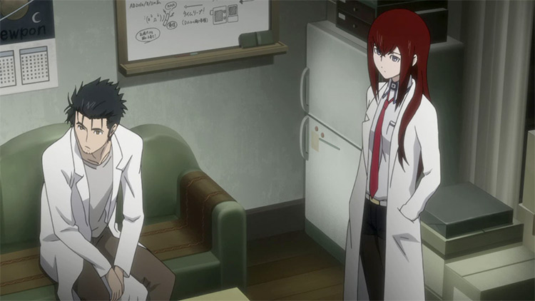 Steins;Gate - Anime Screenshot