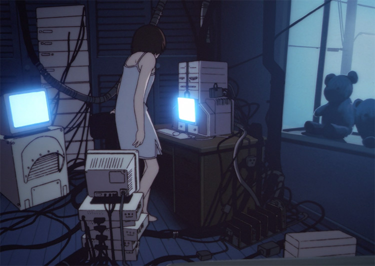 Serial Experiments Lain Anime Screenshot