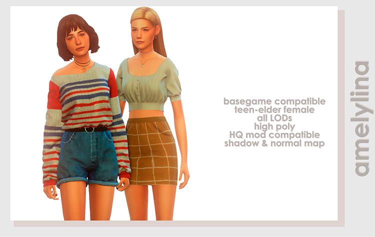 Aurora Sweater cute design TS4