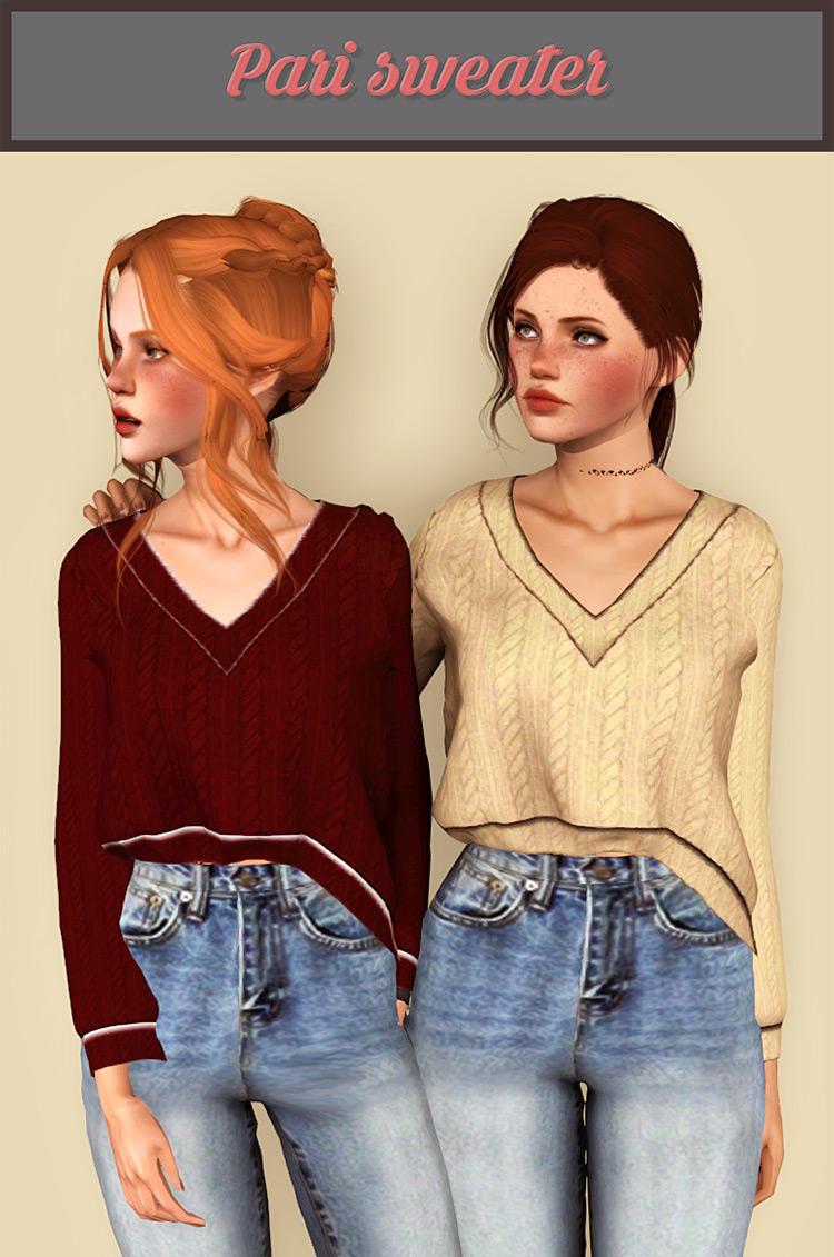 Pari Sweater TS4 CC