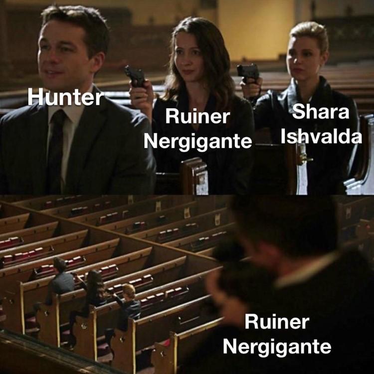 Ruiner Nergigante joke meme