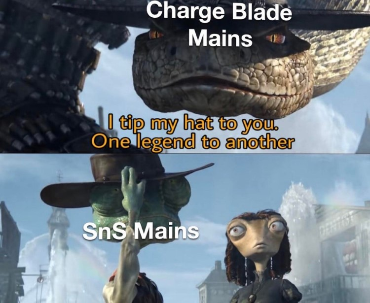 Charge Blade Mains and SnS mains