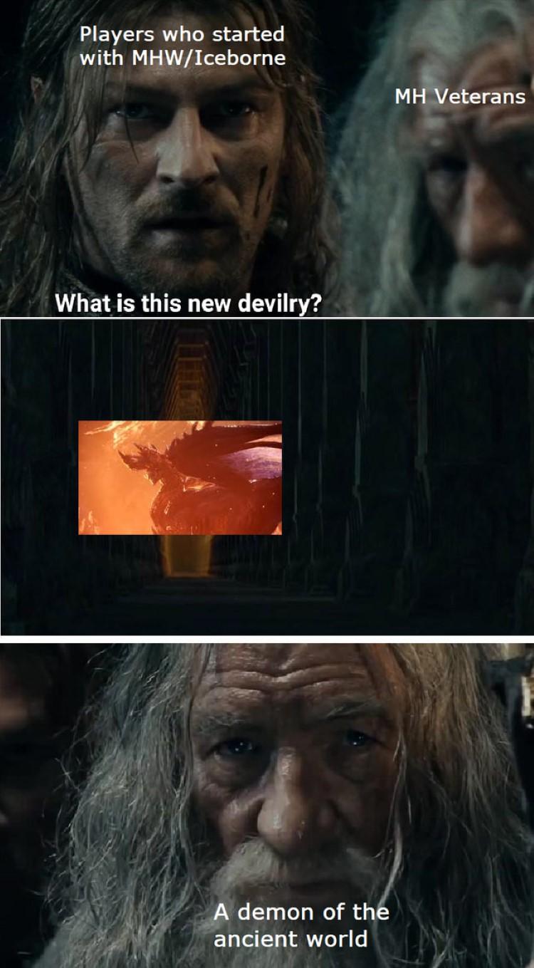 hunter world monster hunter memes